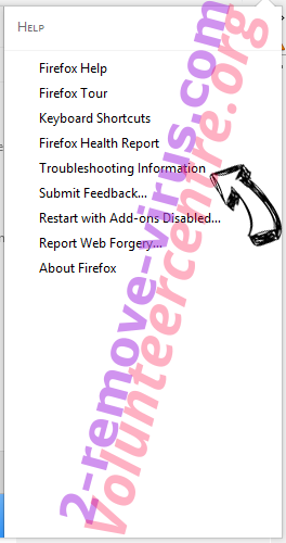 Volunteercentre.org Firefox troubleshooting
