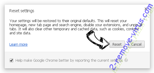 HELP_YOUR_FILES Virus Chrome reset