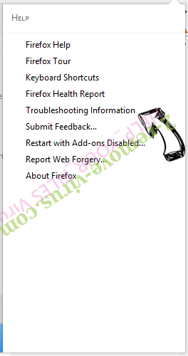 HELP_YOUR_FILES Virus Firefox troubleshooting