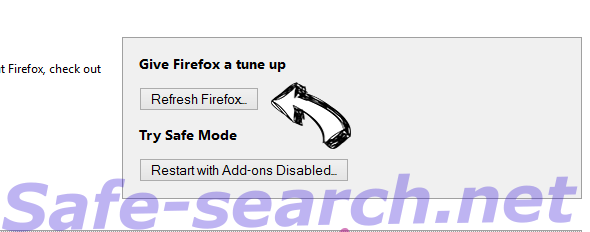 My Search Manager search Firefox reset
