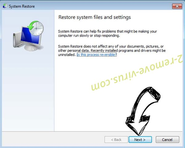 Get rid of .SKUNK File Virus - restore init