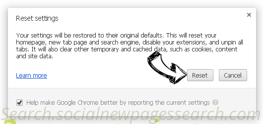 Privatesearch.net Chrome reset