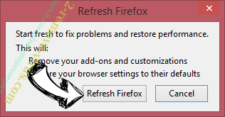 Privatesearch.net Firefox reset confirm
