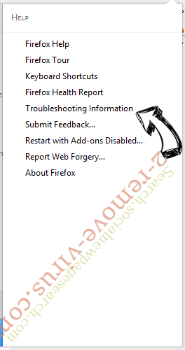 Search.socialnewpagesearch.com Firefox troubleshooting
