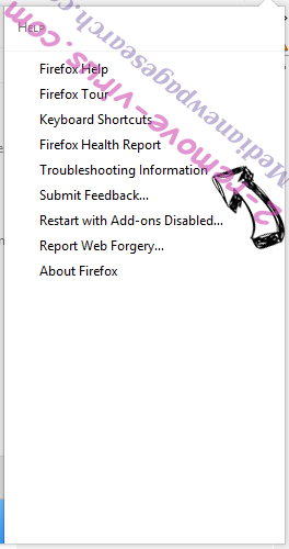 Medianewpagesearch.com Firefox troubleshooting