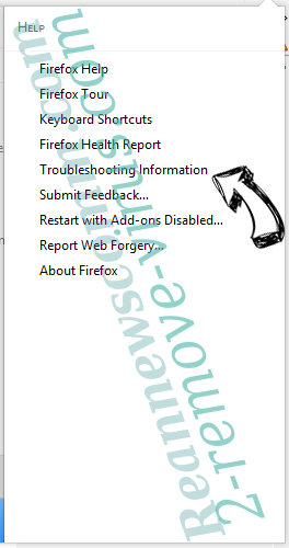 Searchwho.com Firefox troubleshooting