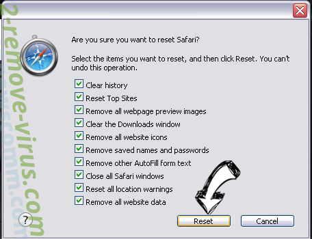 Search.safesidetabsearch.com Safari reset