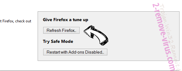 StartSearch Firefox reset