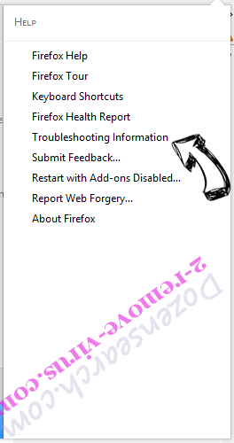 Mystarting123.com Firefox troubleshooting