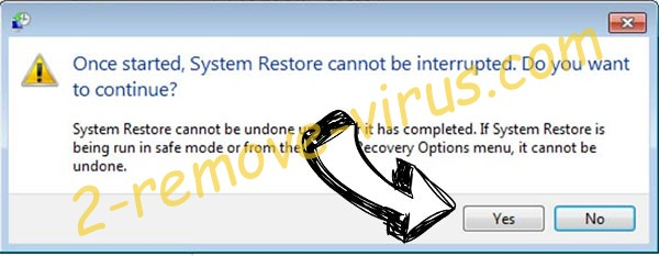 .tfude File Virus removal - restore message