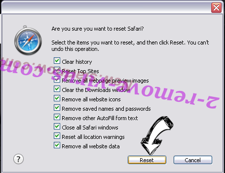 Search.etoolkit.com Safari reset