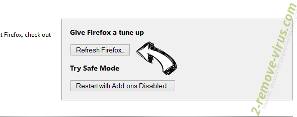 Удаление Social2Search Firefox reset