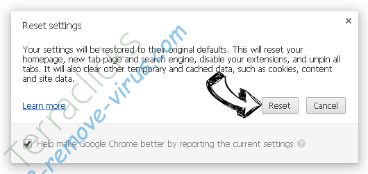Torrenttab.com Chrome reset