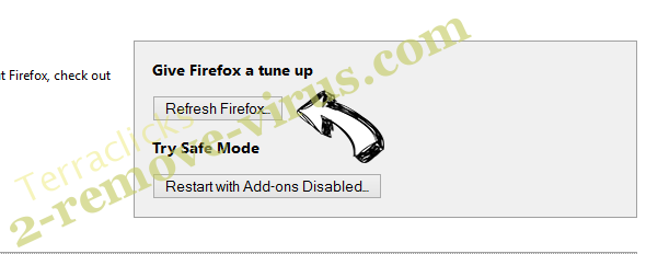 Axisearch.com Firefox reset