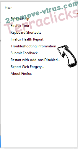 Terraclicks Firefox troubleshooting