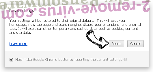 Find It. Search Chrome reset