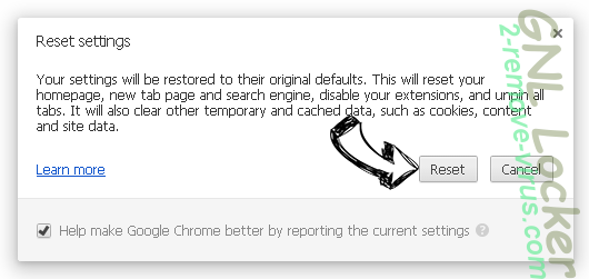 DirectionsOnline Toolbar Chrome reset