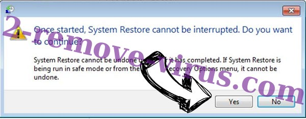 Wncry Virus removal - restore message