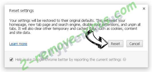 Mobifoth Chrome reset