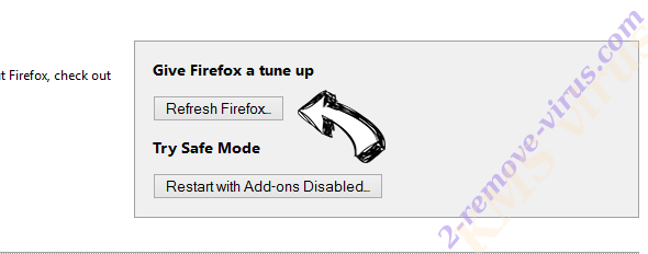 Cleanresults.co Firefox reset