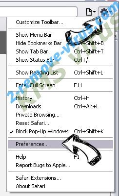 Hao280.com Safari menu