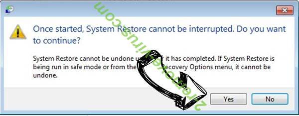 Radman ransomware file virus removal - restore message