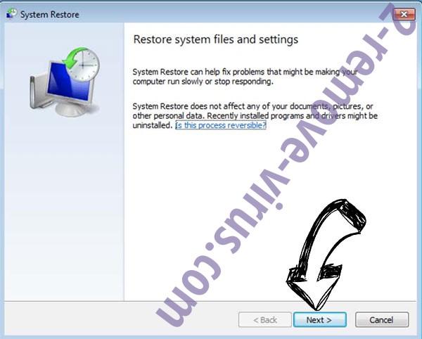 Get rid of Radman ransomware file virus - restore init