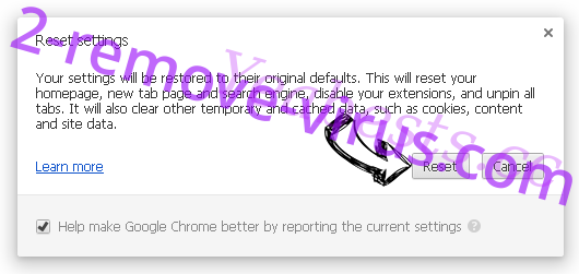 Yeabests.cc Chrome reset