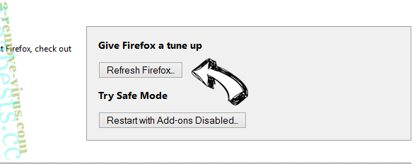 Search.softonic.com Firefox reset