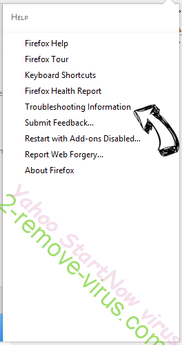 Rimuovere Goliath virus Firefox troubleshooting