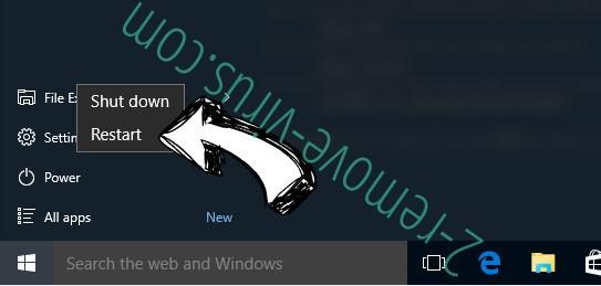 Windows 10 - restart