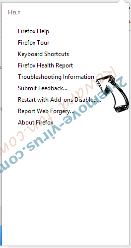 WebSearchInc.net Firefox troubleshooting