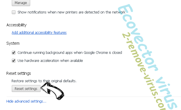 Searchemyn.com - wie entfernen? Chrome advanced menu