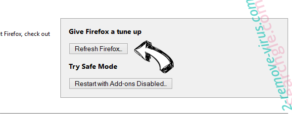 BetterTab virus Firefox reset