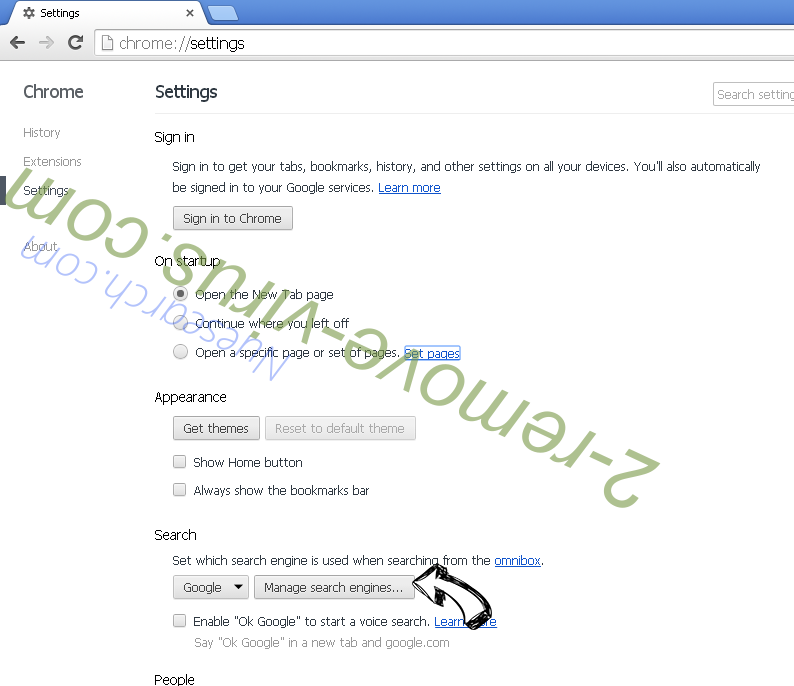 Zcryptor virus Chrome extensions disable