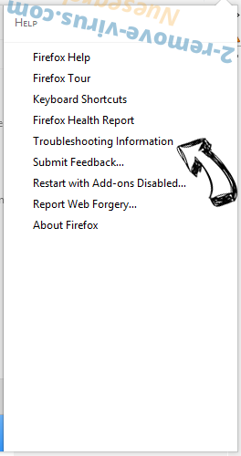 Search.fc-cmf.com entfernen Firefox troubleshooting