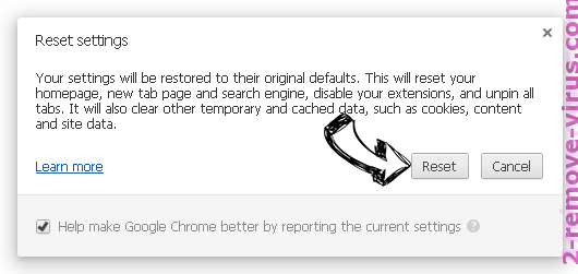 SearchSwapper.com Chrome reset