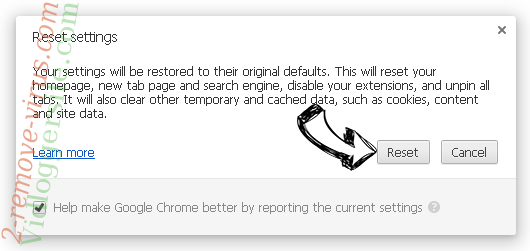 Search.televisiondirect.co Chrome reset