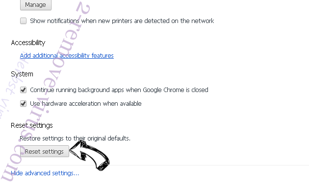 bLeengo Chrome advanced menu