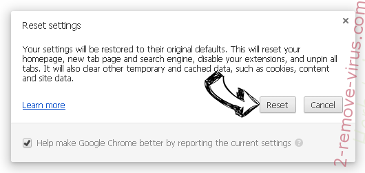 Search.kyushuplow.com Chrome reset