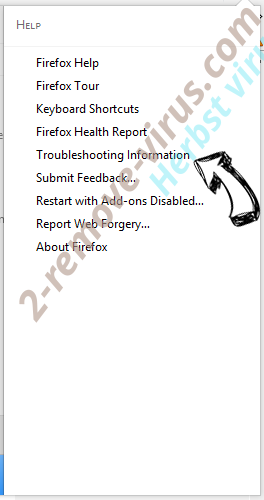 Herbst virus Firefox troubleshooting