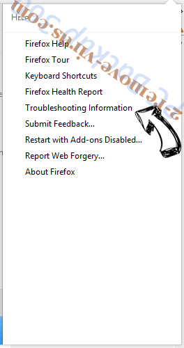 Searchqm.com Firefox troubleshooting