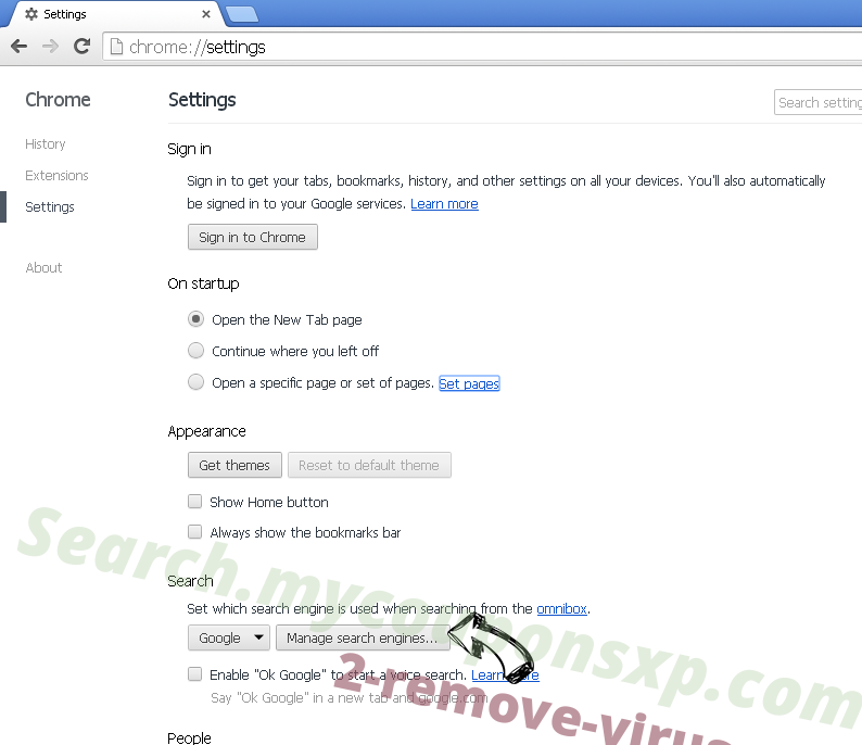 Pirate Chick VPN virus Chrome extensions disable
