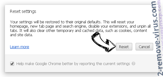 ExactSearch.org Chrome reset
