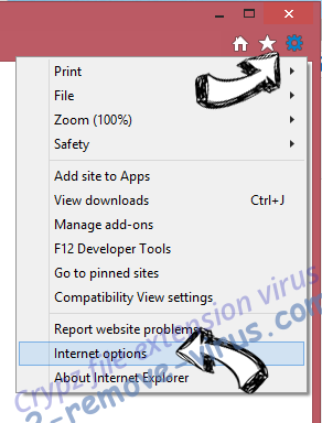 2345.COM virus IE options
