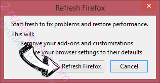 Search.searchgmf.com - come rimuovere? Firefox reset confirm