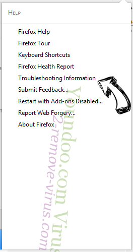 Trotux.com Search Virus Firefox troubleshooting