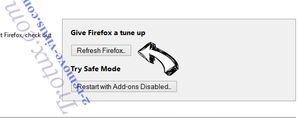 Goverial Search redirect Firefox reset