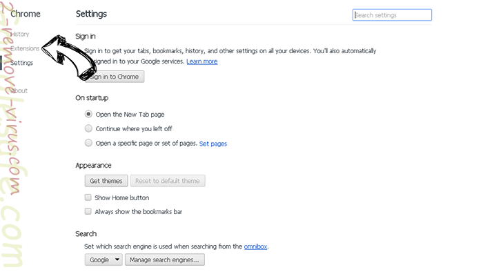 Y07.com Chrome settings