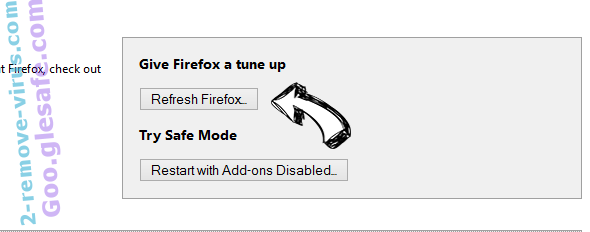 Alpha Shoppers Virus Firefox reset